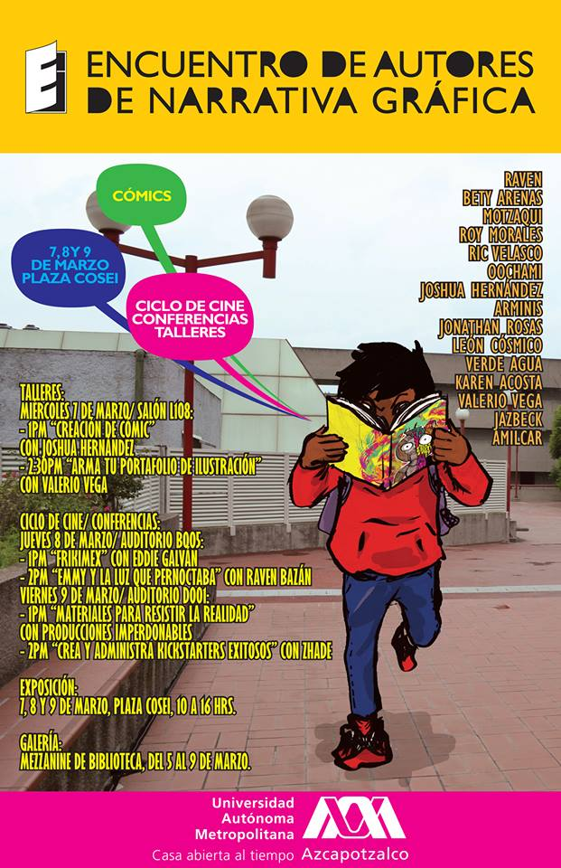 Encuentro de Autores de Narrativa Gráfica en CDMX