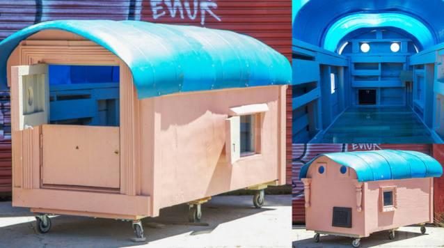 Home built for the Homeless