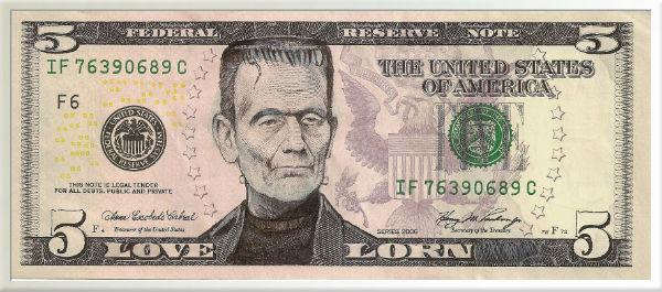 Frankenstein's Monster Money