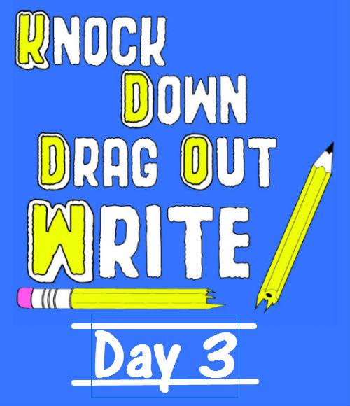 Novel Writing Day 3