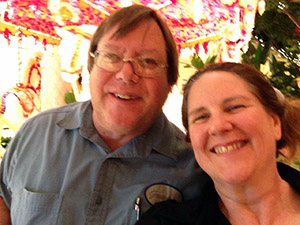 Mark and I at the Wynn Las Vegas, the day before my double nickel B-Day