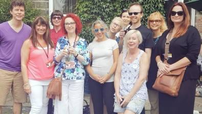 Cath Staincliffe, Tammy Cohen, Helen Cadbury, Mark Edwards, Louise Voss, Samantha Hayes, Marnie Riches