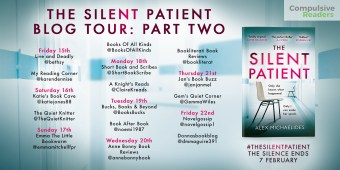 The Silent Patient Blog Tour Part 2