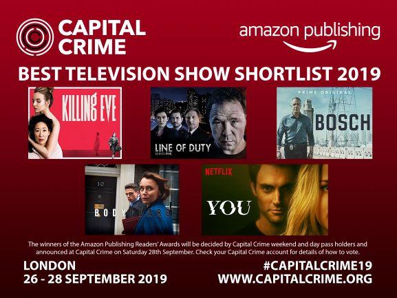 Capital Crime Best Television Show Shortlist 2019