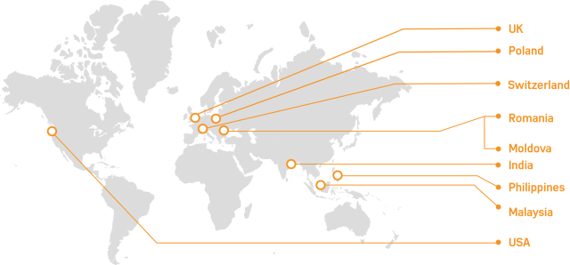 Computaris offices across the world