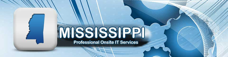 Professional Local Onsite Computer PC and Printer Repair, Networking, and Voice and Data Cabling Services in Mississippi (MS)