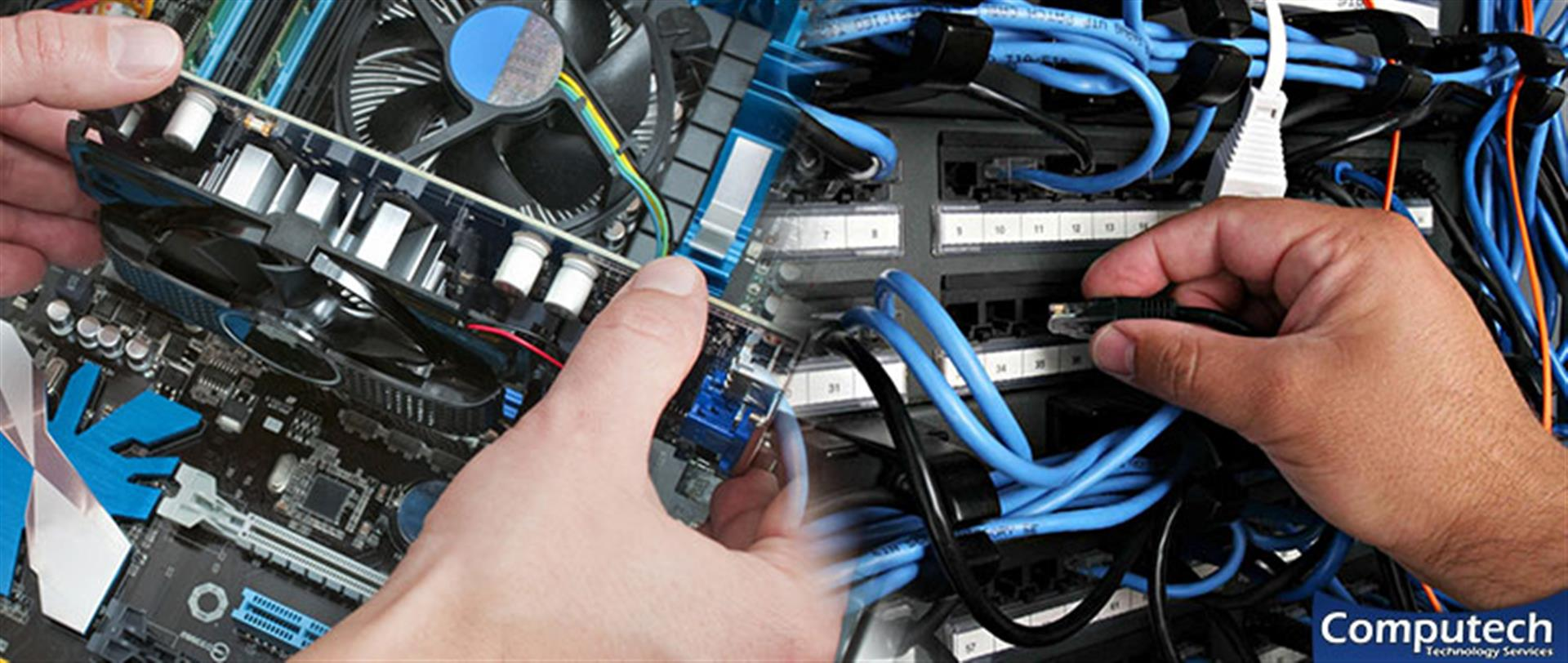 Forest Park Georgia On Site Computer PC & Printer Repair, Network, Voice & Data Cabling Solutions