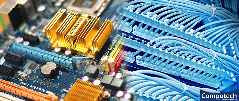 Bay City Michigan Onsite Computer PC and Printer Repair, Network, Voice and Data Low Voltage Cabling Services