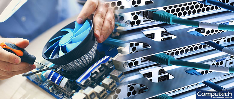Albion Michigan On Site Computer PC and Printer Repairs, Network, Voice and Data Cabling Services