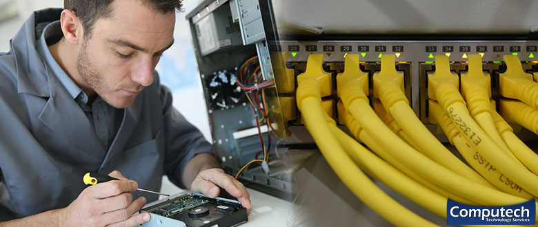 Lake Charles Louisiana On Site Computer PC & Printer Repair, Networking, Voice & Data Cabling Services
