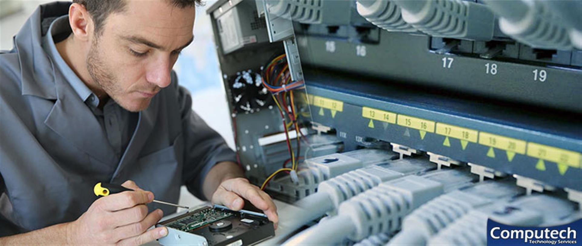 Salem Virginia Onsite Computer PC & Printer Repairs, Network, Voice & Data Cabling Services