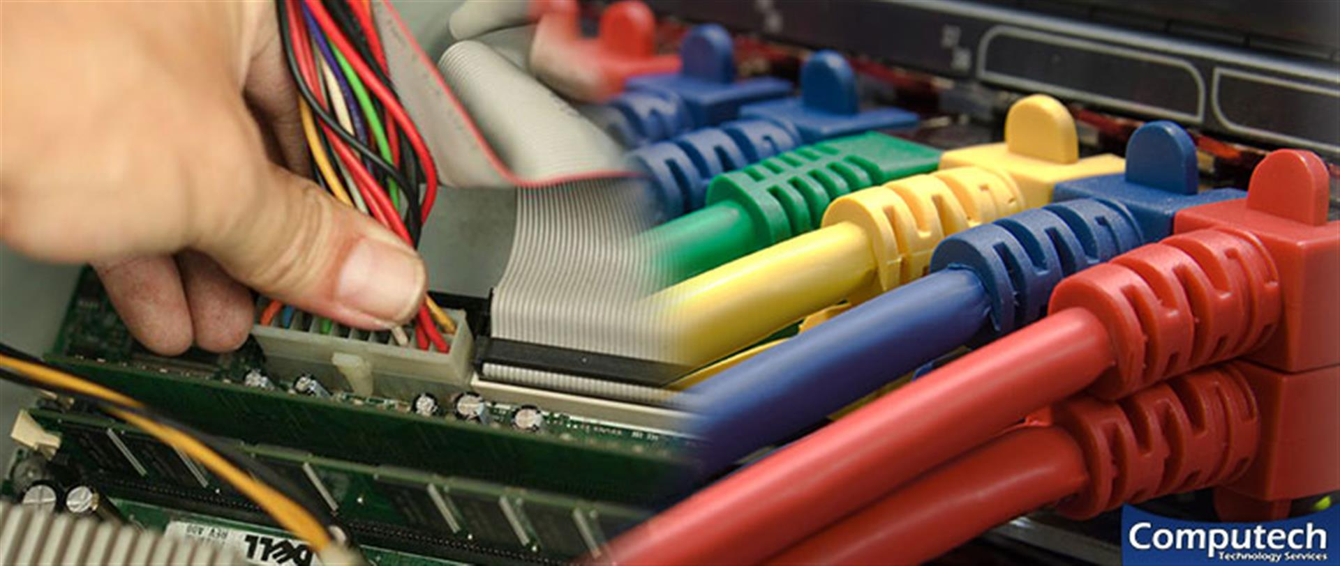 Lynchburg Virginia Onsite Computer & Printer Repair, Networks, Voice & Data Cabling Services