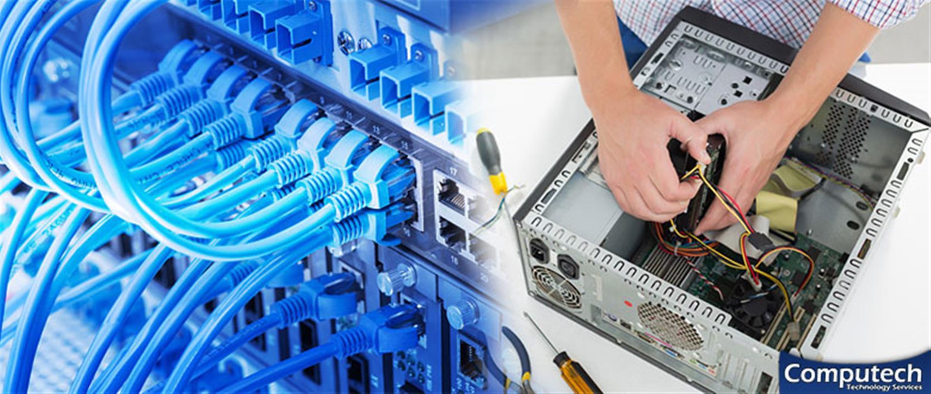 Christiansburg Virginia Onsite Computer PC & Printer Repair, Networking, Voice & Data Cabling Contractors