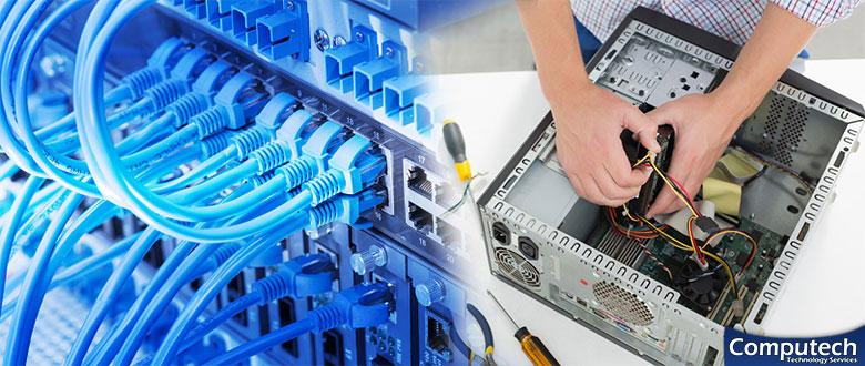 Rockingham North Carolina On Site PC Repairs, Network, Telecom & Data Cabling Services