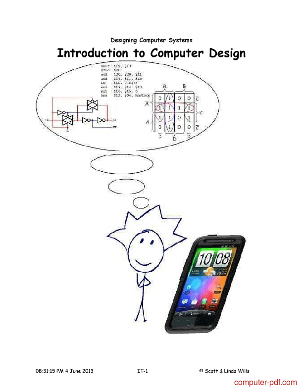 [PDF] Introduction to Computer Design free tutorial for