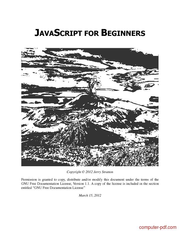 [PDF] JavaScript for beginners free tutorial for Beginners