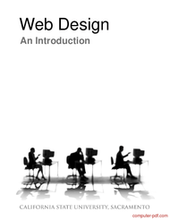 [PDF] Web Design An Introduction free tutorial for Beginners