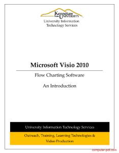 Tutorial microsoft visio also pdf free for beginners rh computer