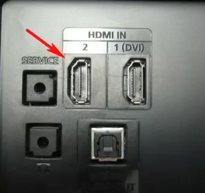 HDMI теледидар кіреберісі