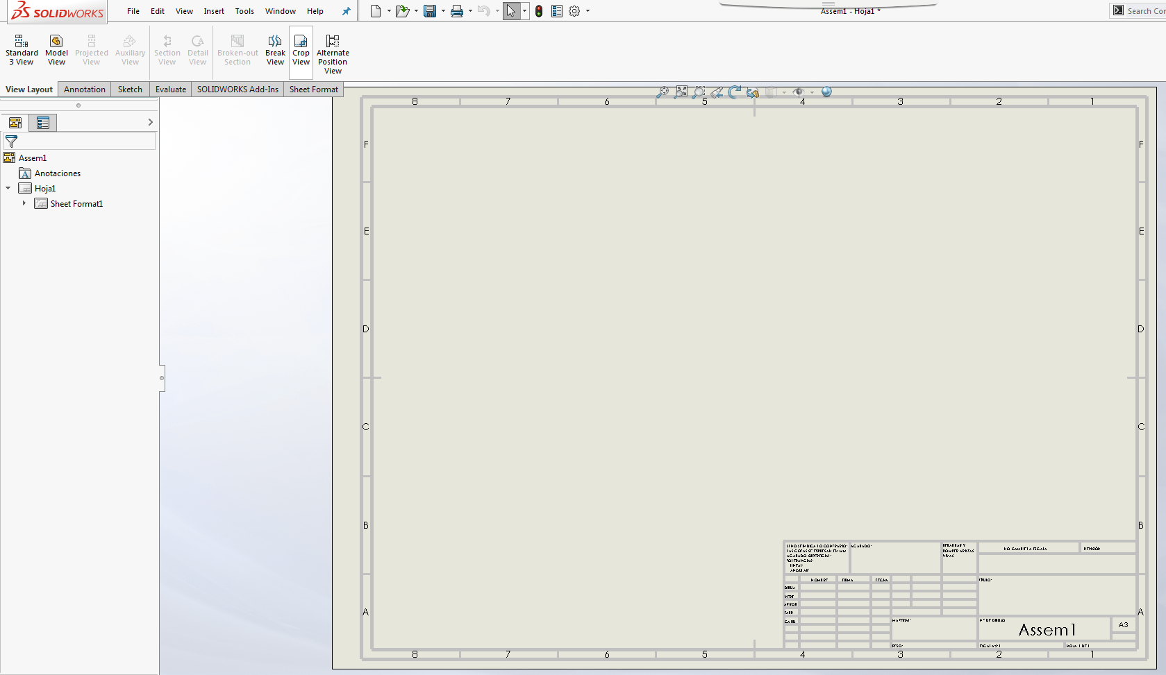 View Layout Tools Tutorial For Solidworks