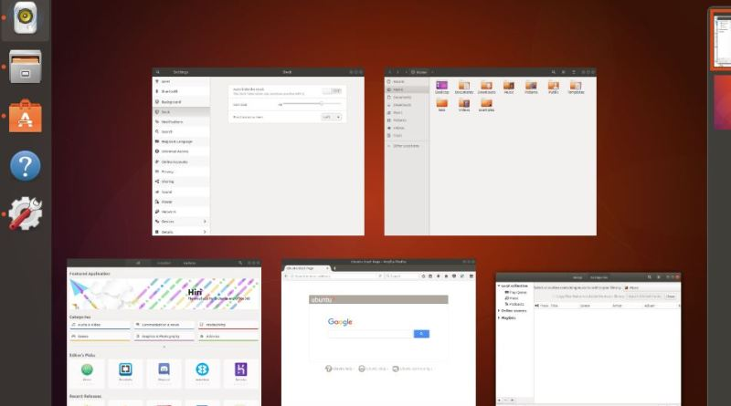 Use GNOME Shell's Activities View To Manage Applications In