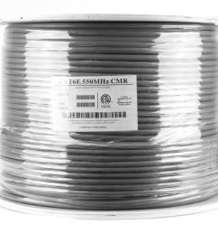 picture of cat6 shielded network cable solid stp gray riser cmr [ 3200 x 2400 Pixel ]
