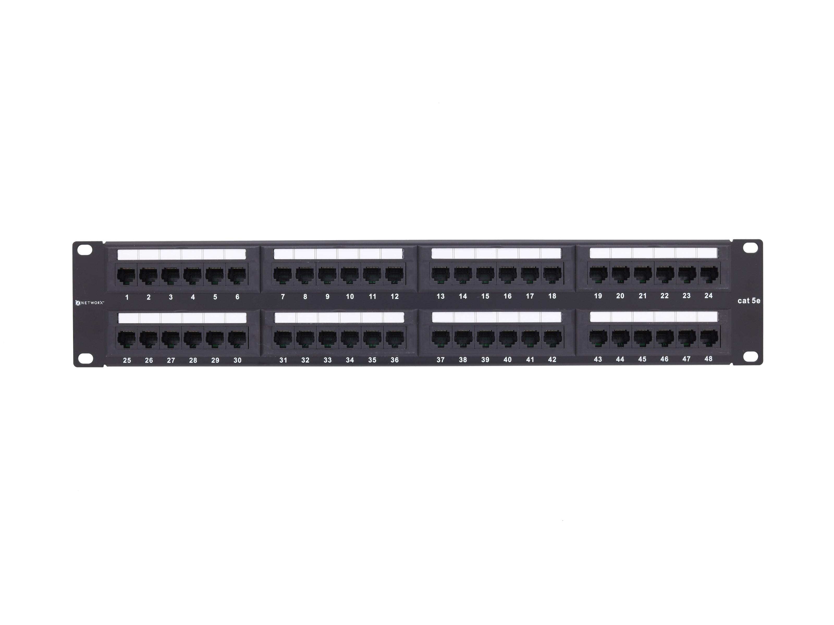 telephone patch panel wiring diagram ford 8n 12v 48 port cat5e rack mount 2u computer cable