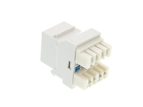 small resolution of  picture of cat6 speedterm keystone jack 180 degree 110 utp white