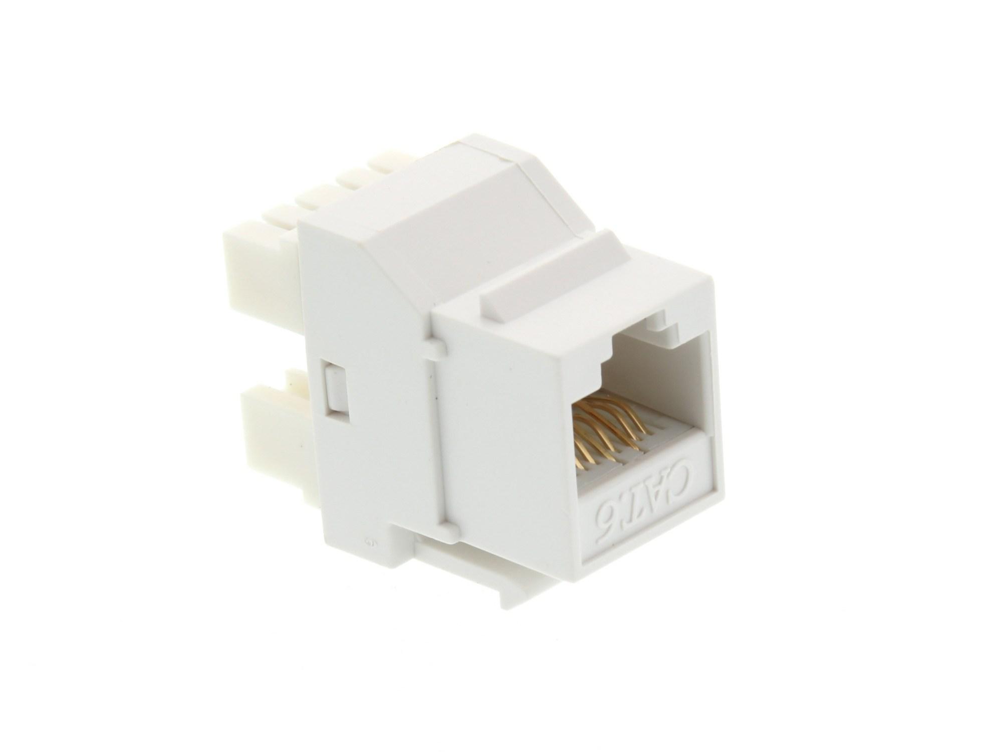 hight resolution of  picture of cat6 speedterm keystone jack 180 degree 110 utp white