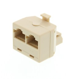modular voice t adapter 1 male to 2 female rj45 8p8c for 8 wire mix picture [ 3200 x 2400 Pixel ]