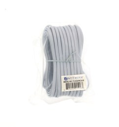 picture of rj11 4 conductor straight wired modular telephone cable 50 ft [ 3200 x 2400 Pixel ]