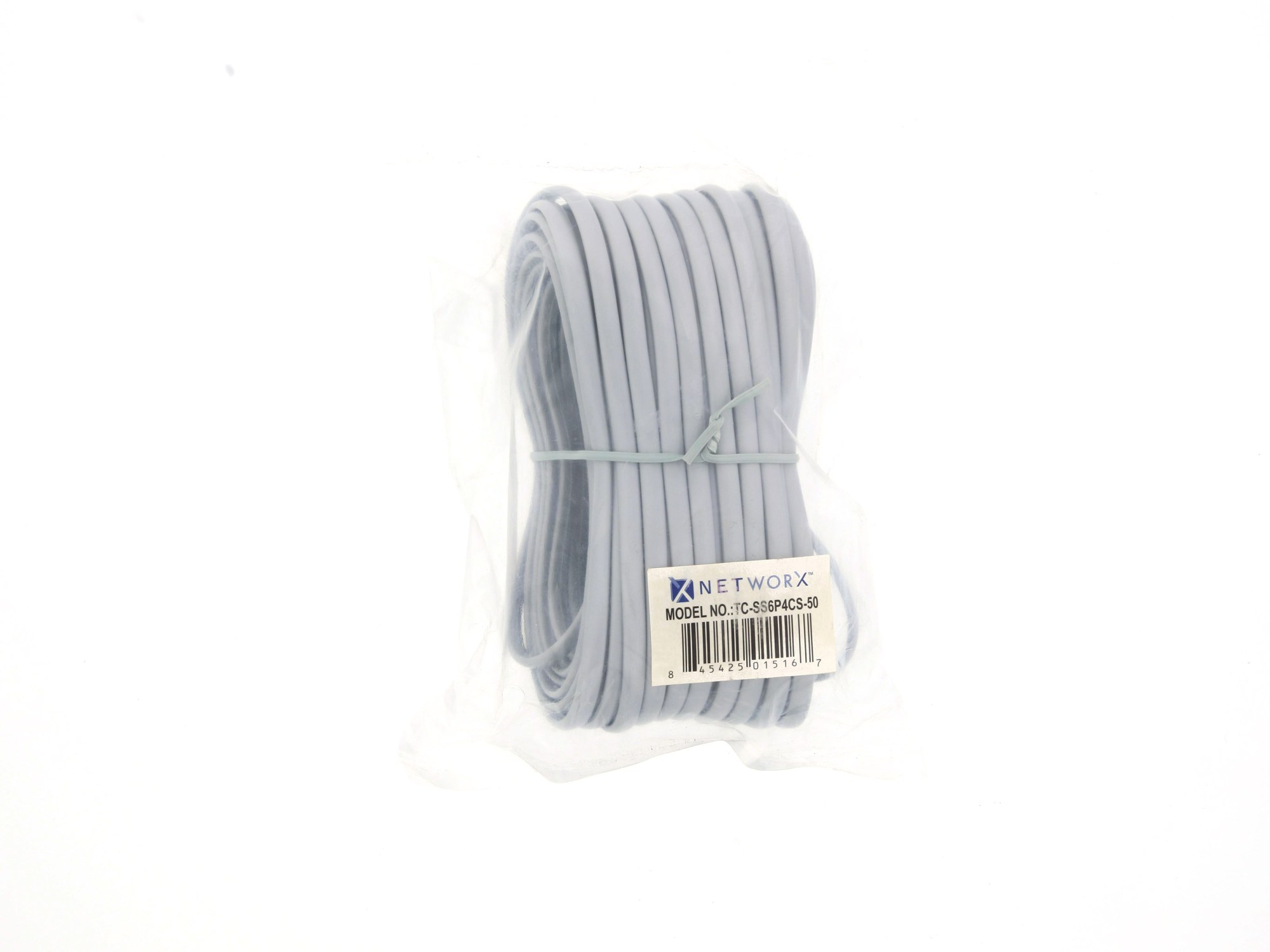 hight resolution of  picture of rj11 4 conductor straight wired modular telephone cable 50 ft