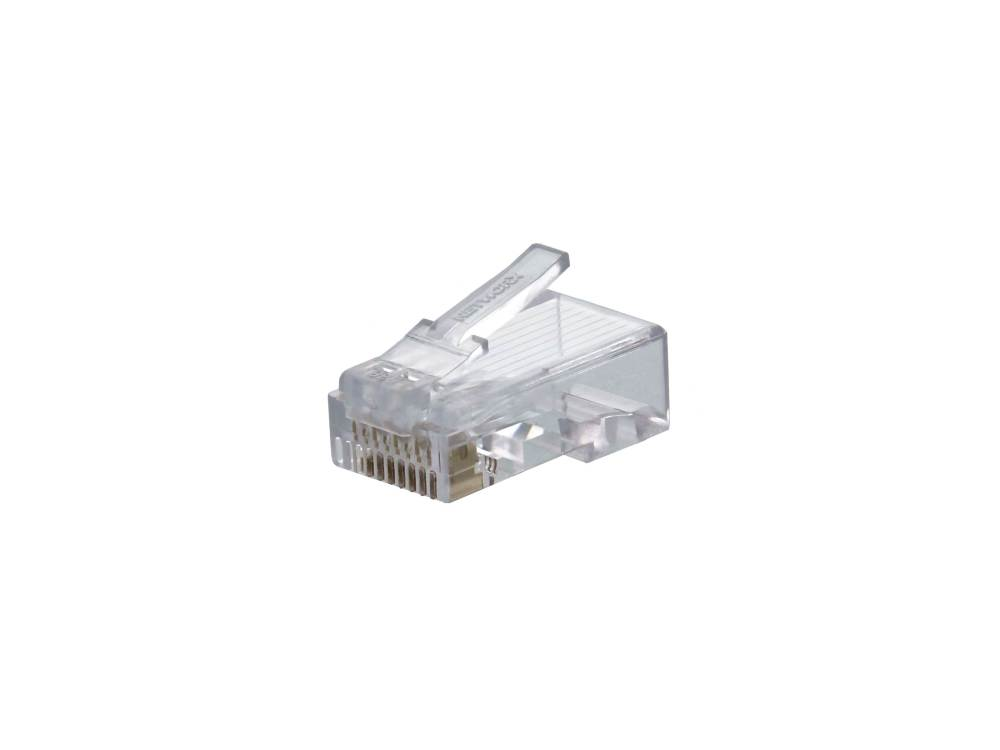 medium resolution of networxtrade cat5e rj45 modular connector 100 pack computer rj45 cat5e modular plugs connectors for solid wire qty 10