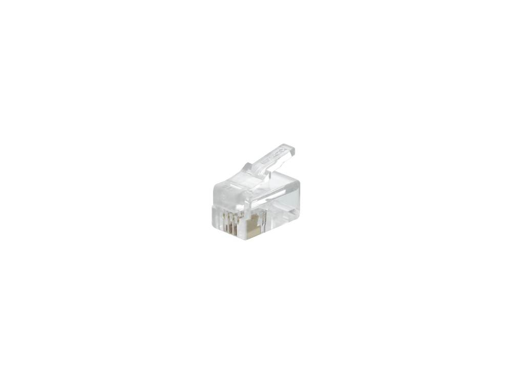 medium resolution of 4p4c modular handset connector 100 pack1 computer cable store
