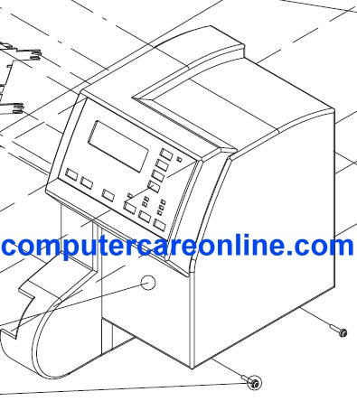 HP C4705-60114 DesignJet 700 Series Right End Cover New OEM