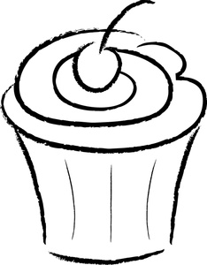 free cupcake clipart 0515-1004-0903-1924
