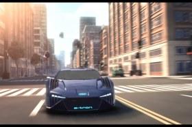 Audi 虛擬概念車RSQ e-tron 將現身好萊塢動畫電影《變身特務》