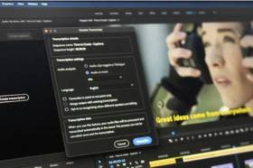 Adobe Premiere Pro自動幫你產生中文字幕!Apple M1晶片也支援