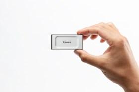 金士頓首款外接式行動固態硬碟XS2000與旗艦級Type-C隨身碟開賣!