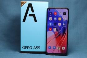 大畫面與高續航力的美拍手機!OPPO A55 開箱使用分享