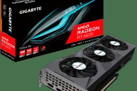 技嘉推出AMD Radeon RX 6600 EAGLE 8G顯示卡
