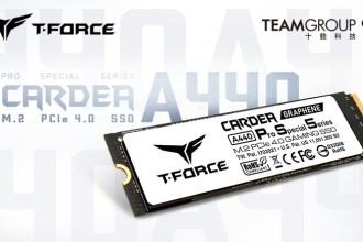 十銓科技推出T-FORCE CARDEA A440 Pro Special Series M.2固態硬碟