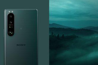 SonyMobile 大師級手機Xperia 1 III 推出限量新色「消光綠」