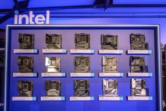 英特爾12代Core處理器特色影片告訴你!眾多Z690晶片組主機板這邊展