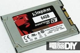 Kingston SSDNow V+180 64GB 1.8吋固態硬碟