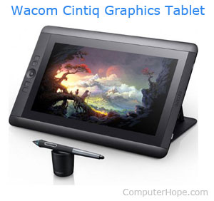 What Is Graphics Tablet?