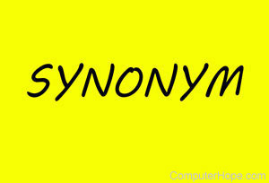 What is a Synonym
