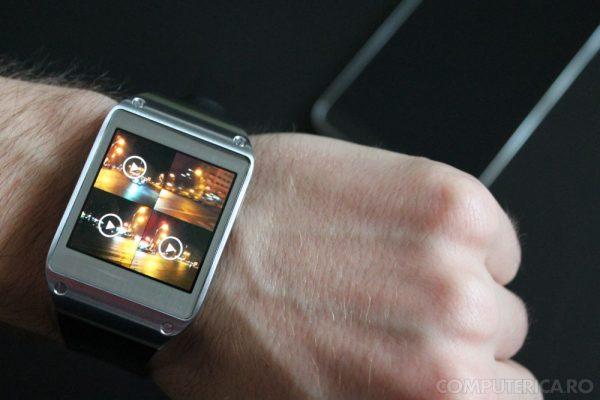 Samsung Galaxy Gear Foto Video capture