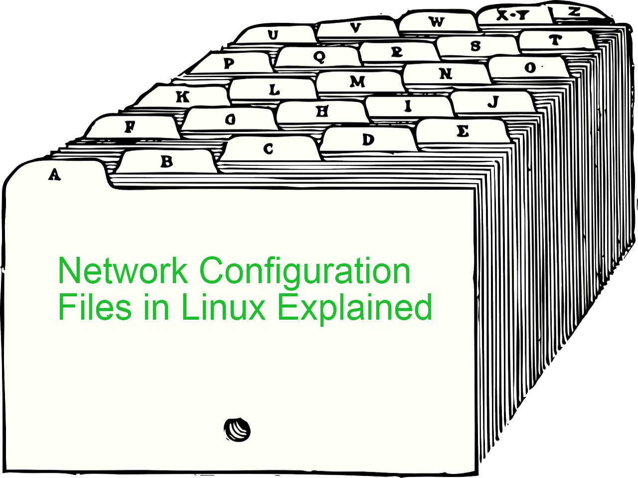 Network Configuration Files in Linux Explained