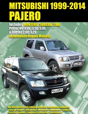 Mitsubishi Pajero, Montero, Shogun, SWB Petrol & Diesel 1999  2014 1876720212 9781876720216 Max